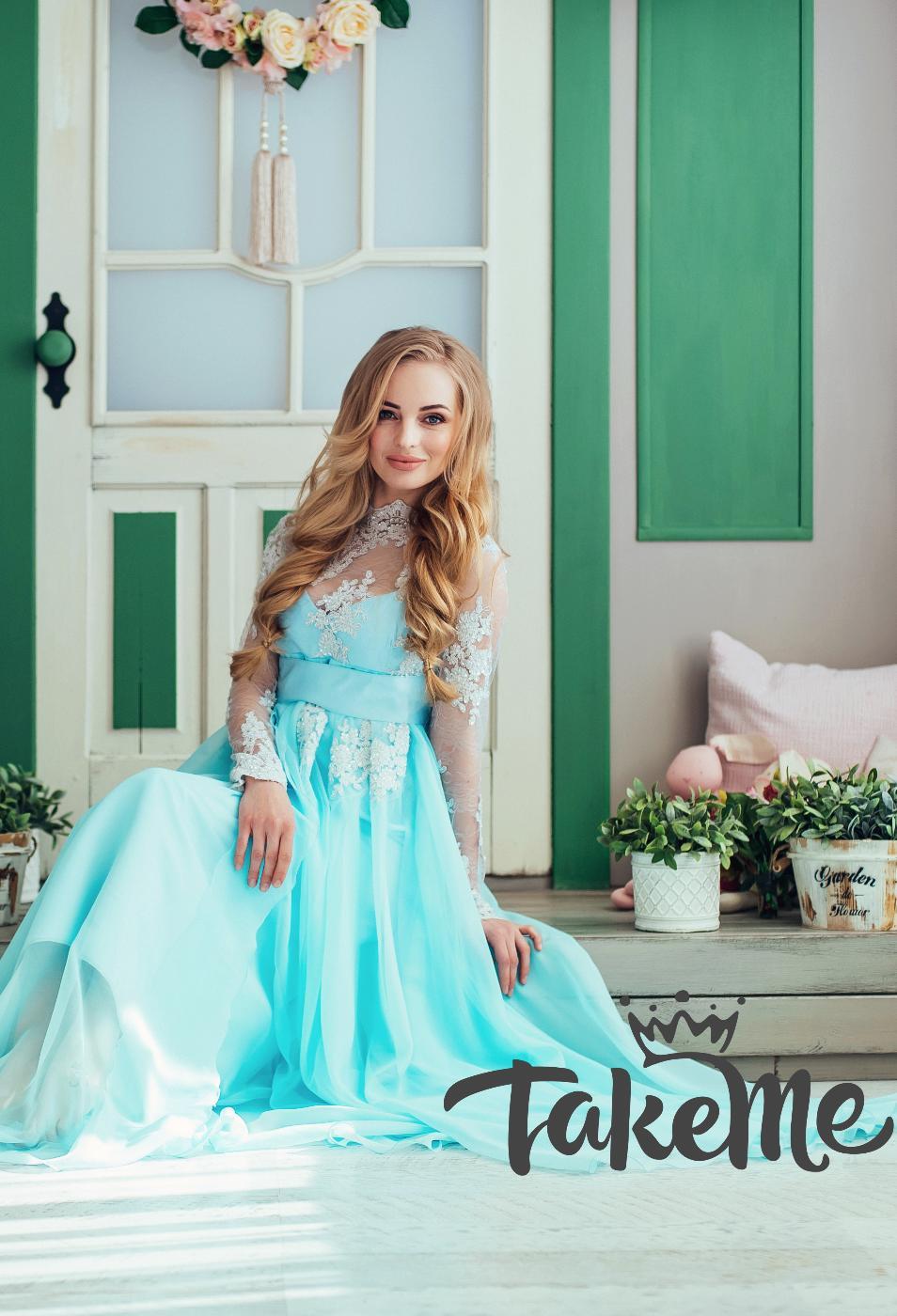 все знают, голубое платье в прокат фотосессии печаль тревоги